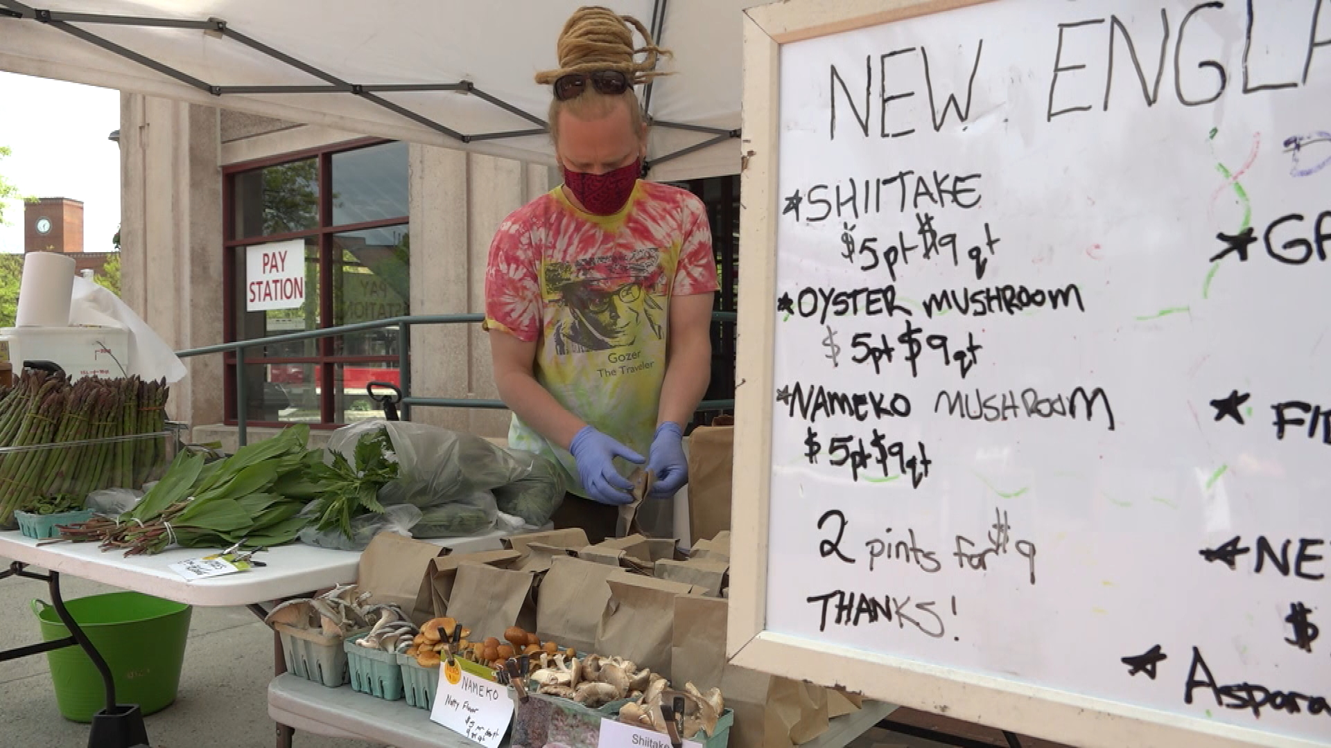 WATCH: Visit the reopened Northampton Tuesday Farmers' Market & learn what new safety precautions were implemented to keep shoppers safe amid the pandemic.