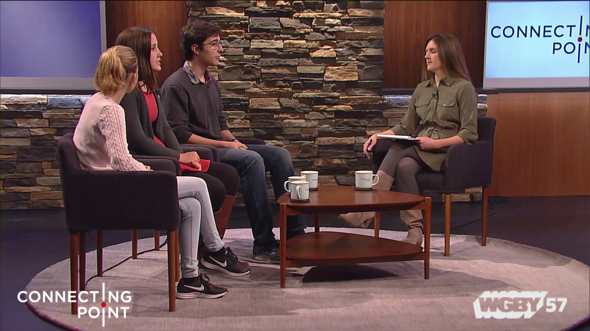 The tragic murder of 17 people at a school in Parkland Florida has spurred students to speak out against gun violence. Three students from Northampton, MA discuss the Northampton Student Walk Out, part of the #ENOUGH National School Walkout Movement movement, taking place on March 14, 2018.