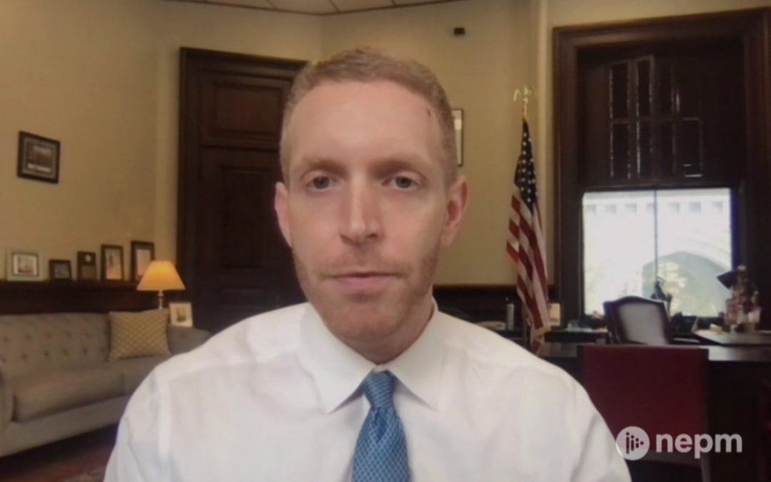 Outgoing Holyoke Mayor Alex Morse