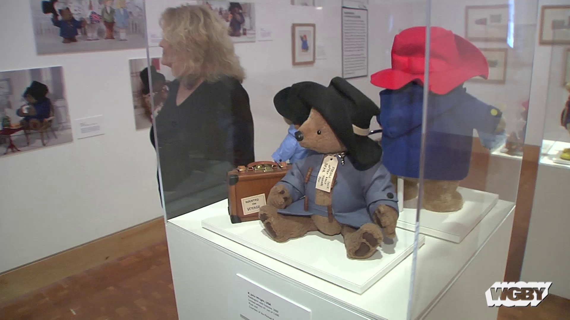 "In celebration of his 60th anniversary, Paddington Bear will come stateside or the first time. Jared Bowen travels to the Eric Carle Museum in Amherst, MA for a look at the newest exhibit, ""Paddington Comes to America,"" and to meet with the artist who makes the iconic bear look picture perfect."