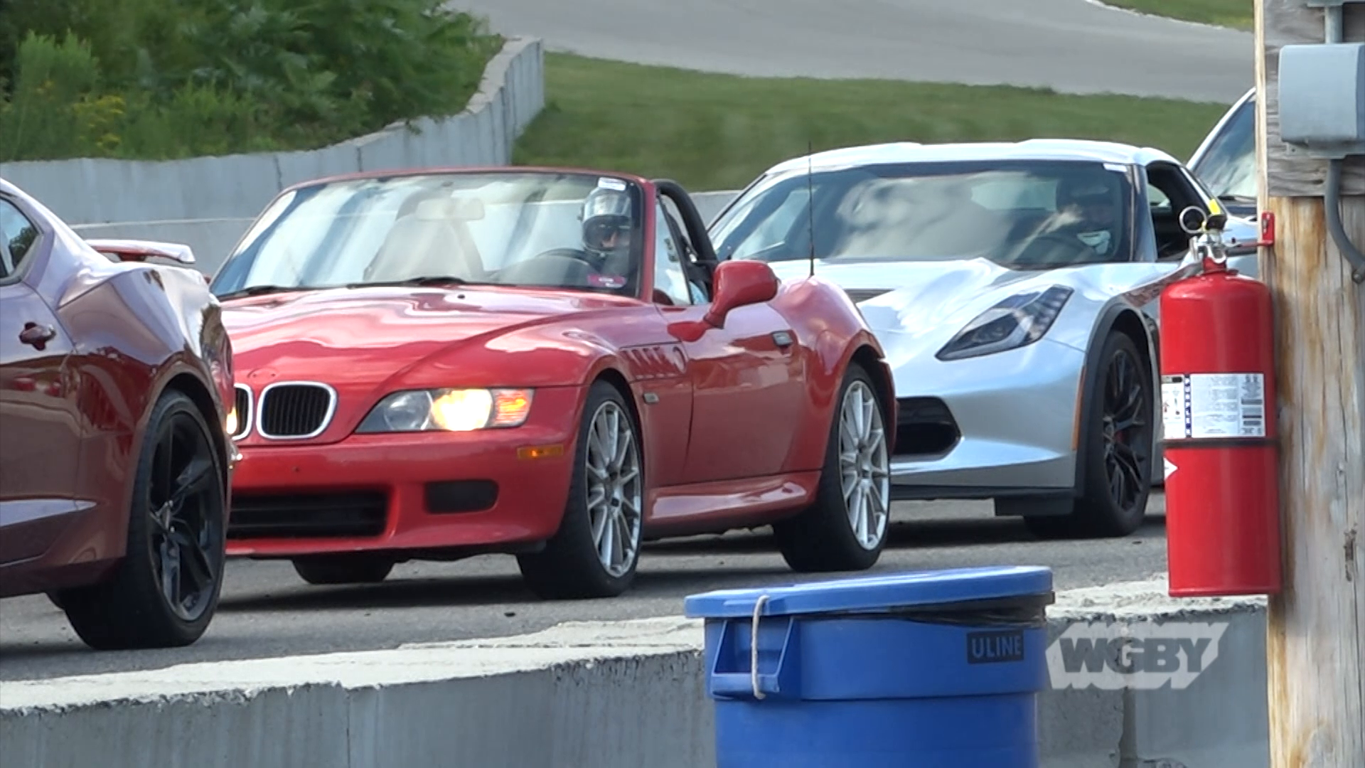 uckle up and join local amateur race car drivers as they put the pedal to the medal at New England's newest racetrack, the Palmer Motorsports Park.
