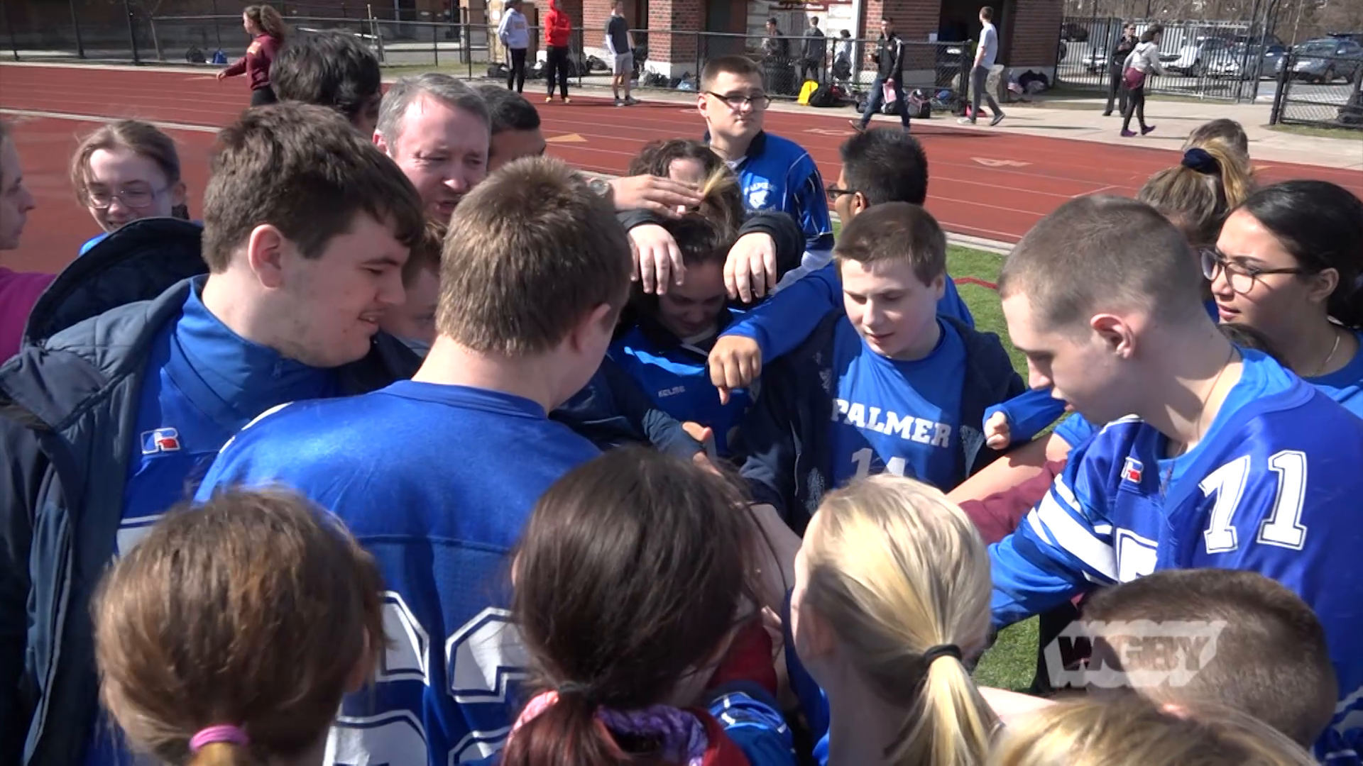 The Palmer Unified Schools program brings together students with and without intellectual disabilities to work together in and out of the classroom