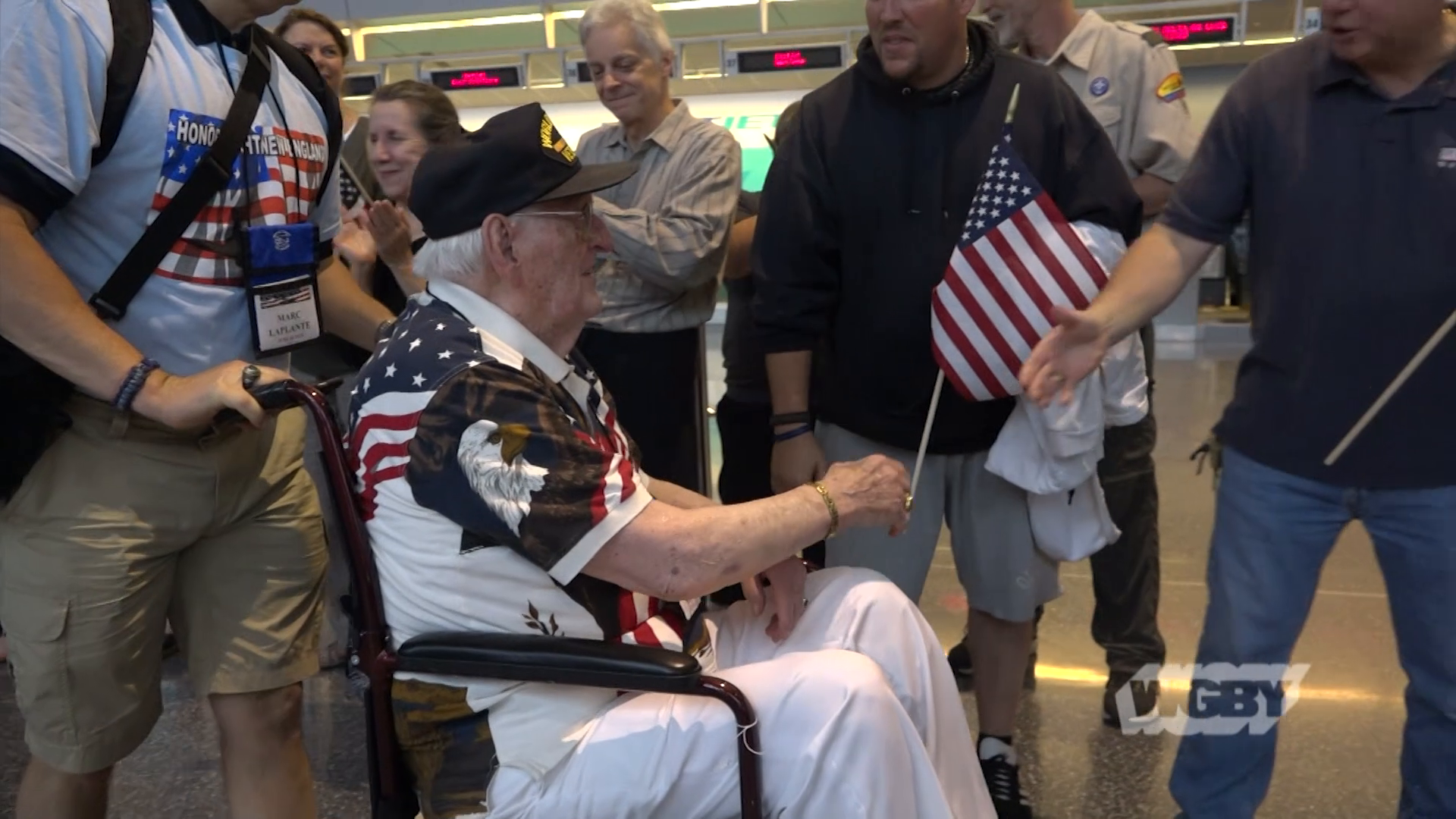 Join pilot Joe Byron on an Honor Flight, a special flight that brings WWII veterans into Washington DC to view the war memorials honoring their sacrafice.