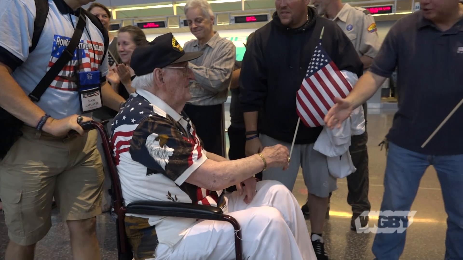 Pilot Joe Bryon's Honor Flight Honors Nation's Veterans