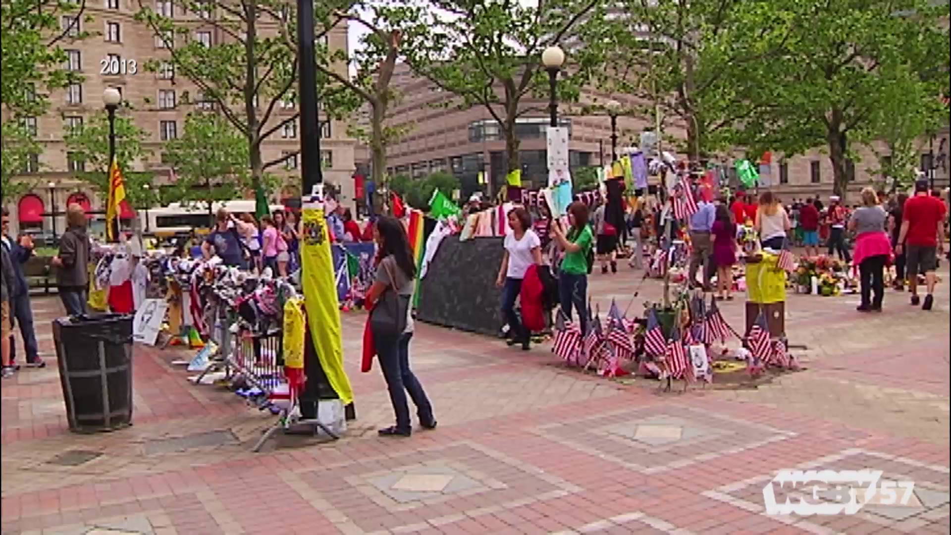 WGBH journalist Emily Rooney planned to meet up with a friend in Boston's Back Bay on Patriots Day in 2013. Instead, she and WCVB's Maria Stephanos rushed towards the sound of chaos at the Marathon finish line. Five years later, the pair met to reflect on the the Boston Marathon Bombing.