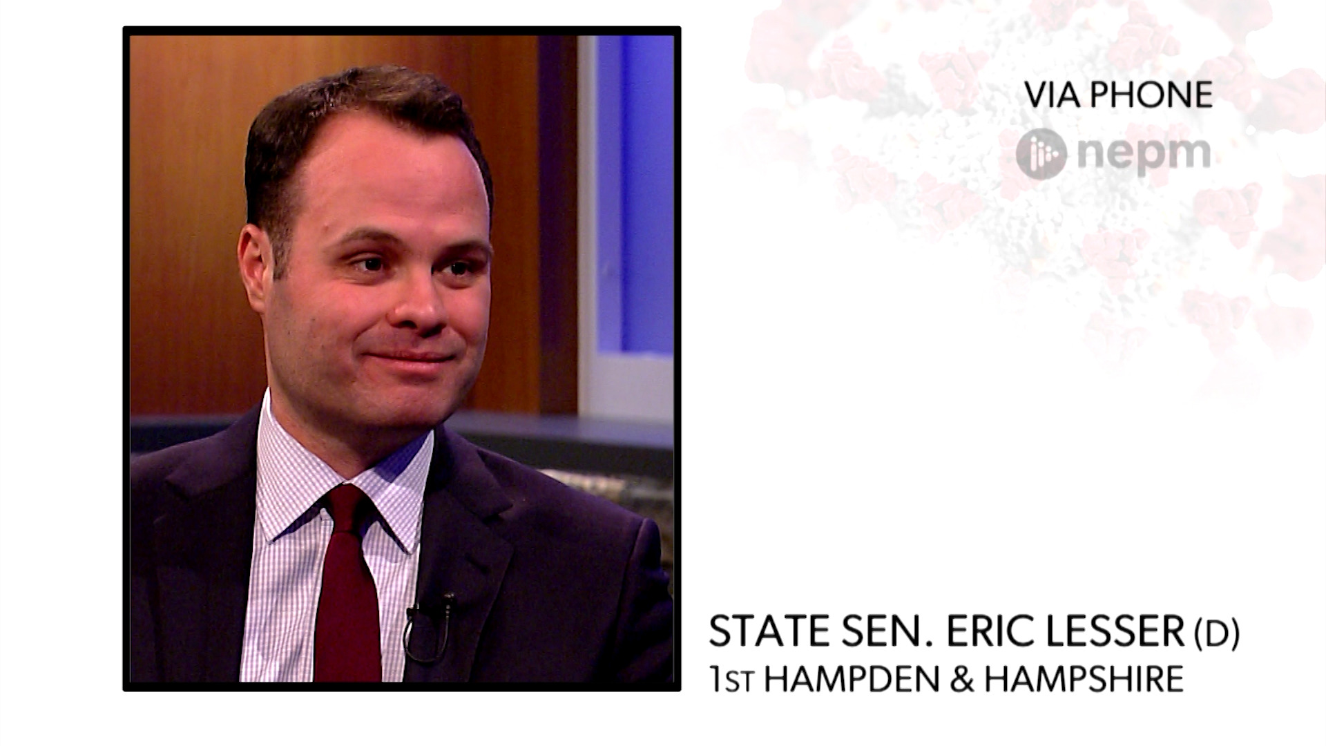 WATCH: Sen. Eric Lesser shares his concerns about the state's new free COVID-19 testing sites, none of which are in western Mass.