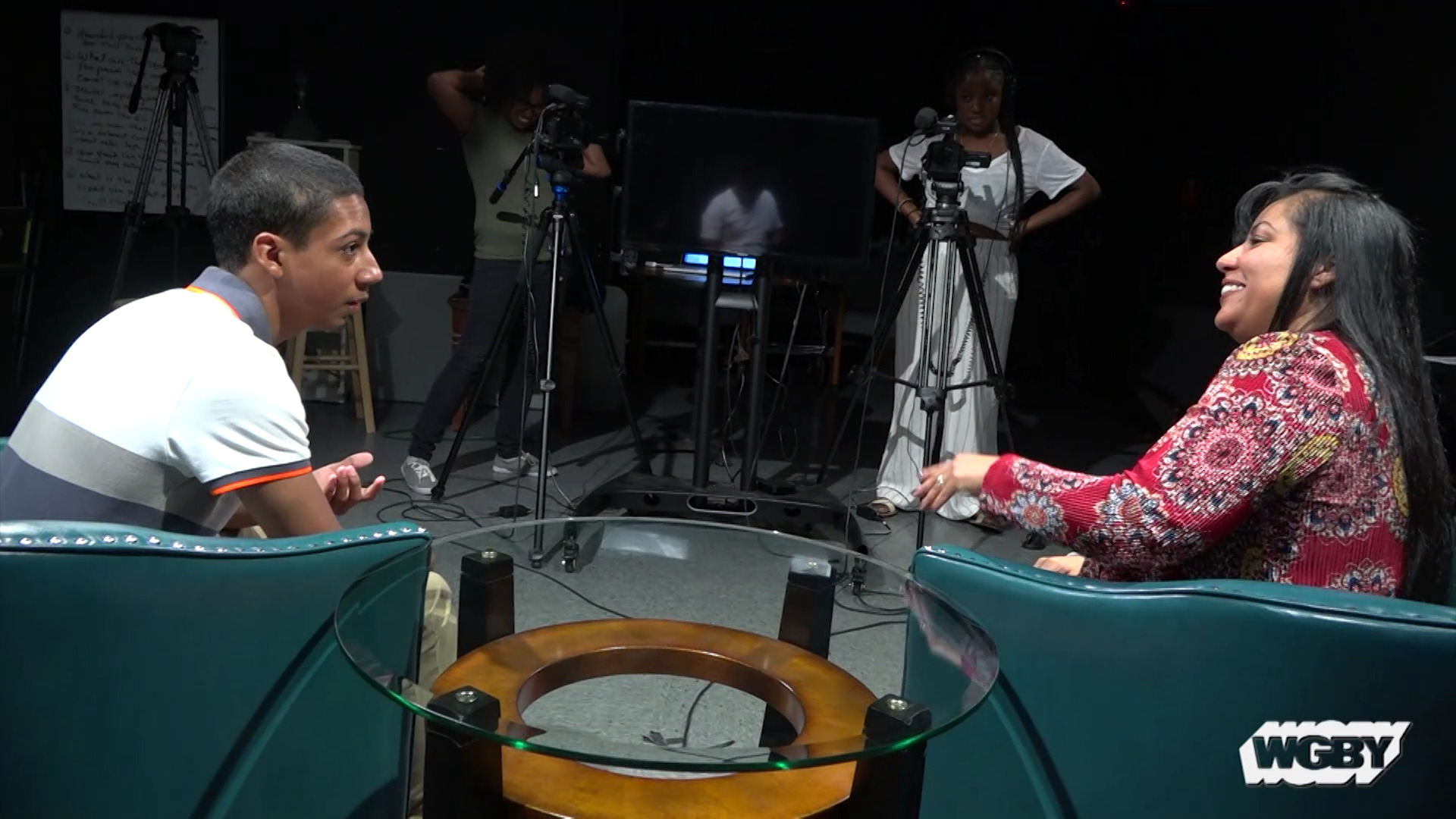 WGBY's Latino Youth Media Institute guided young people displaced by Hurricane Maria as they created stories reflecting their experience during the storm.