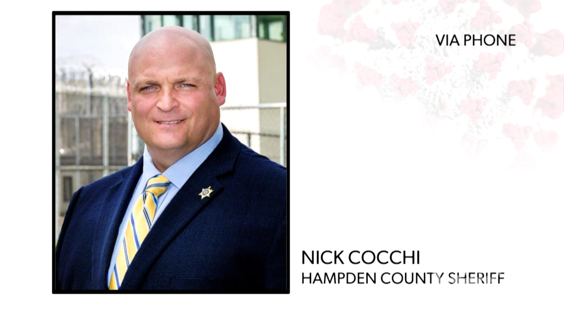 WATCH: Hampden County Sheriff Nick Cocchi explains the changes he's made to protect inmates from COVID-19 and why early release is not part of his plan.