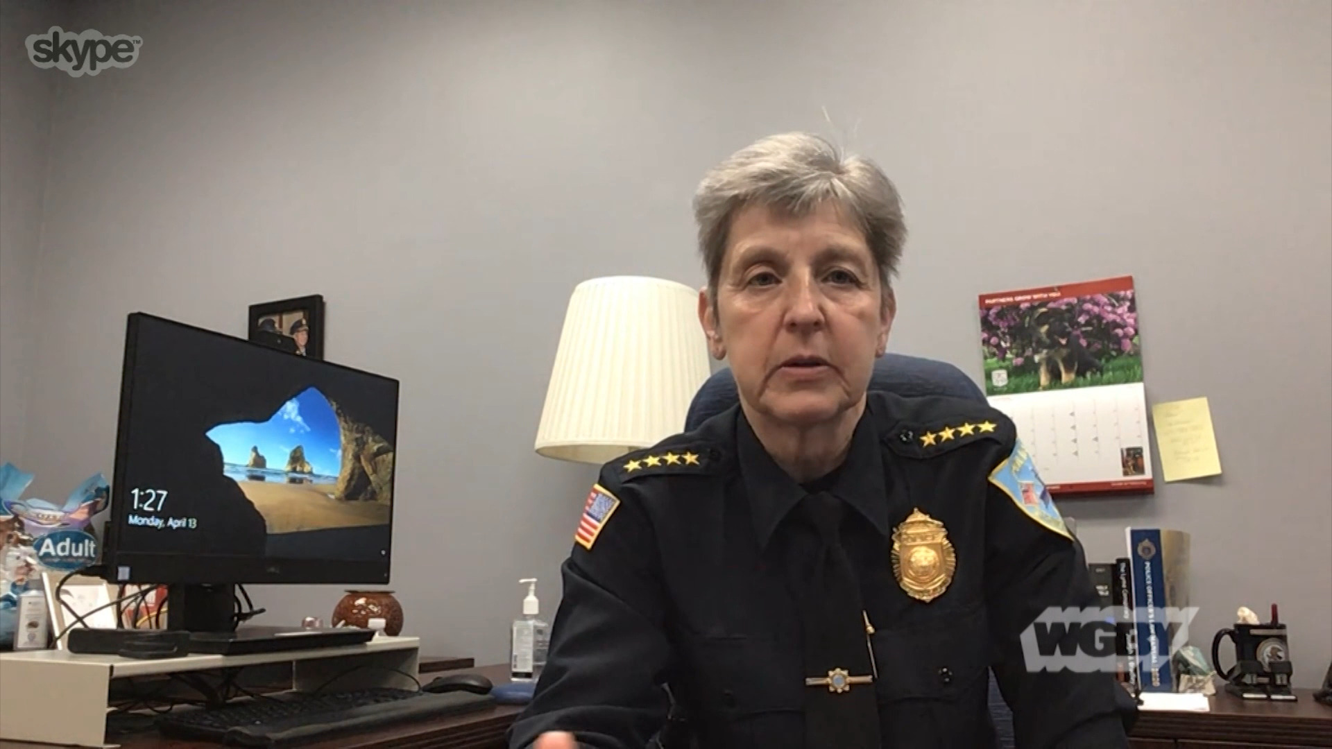 Springfield Police Commissioner Clapprood shares how her officers are going above and beyond to ensure public safety as western Mass battles the COVID-19.