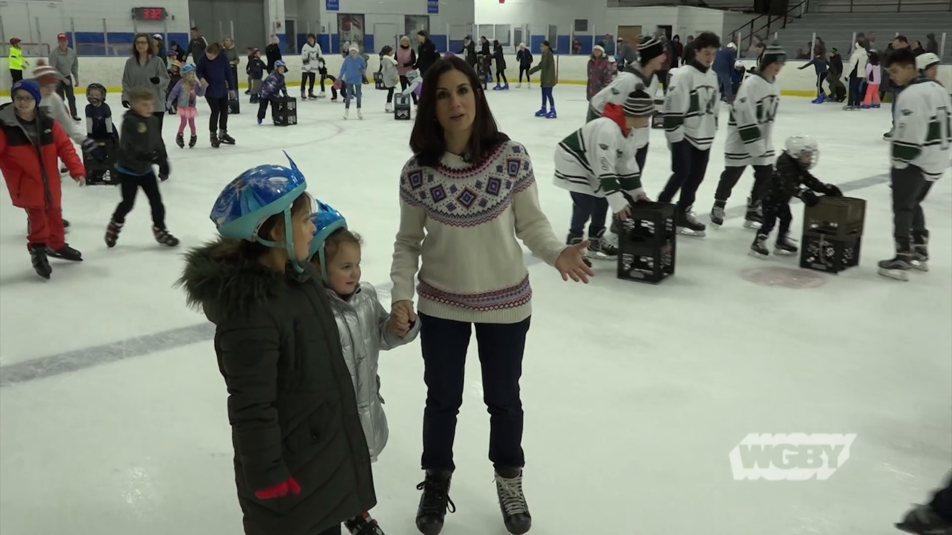 For two decades, the Springfield Police have offered kids free skating lessons as part of the Learn to Skate program at Cyr Arena in Forest Park.
