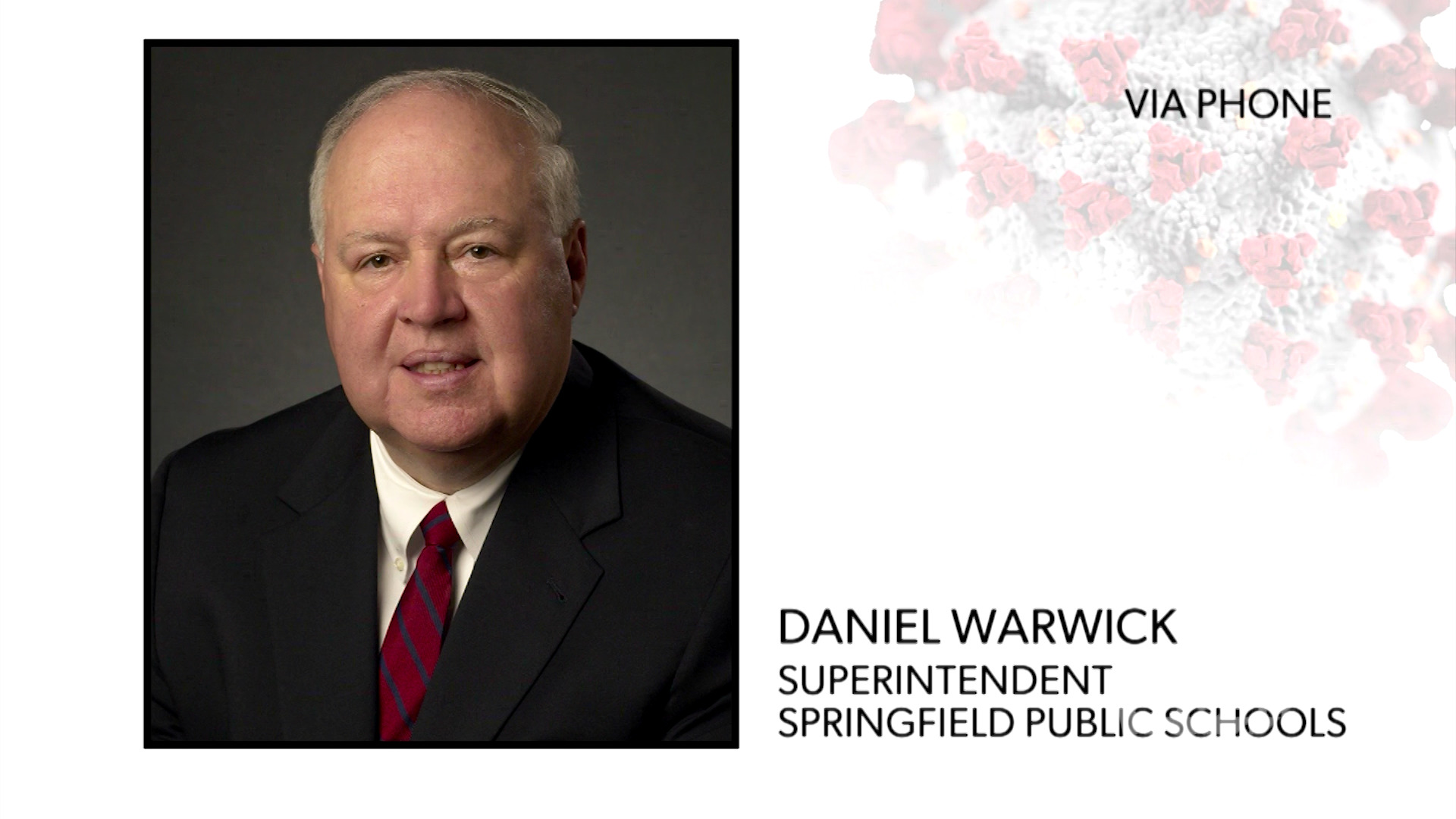 WATCH: Superintendent Daniel Warwick explains how Springfield Public Schools are supporting students with remote learning during the coronavirus pandemic.