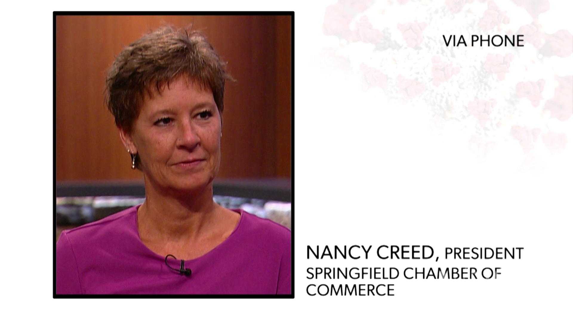 WATCH: Springfield Regional Chamber President Nancy Creed reacts to a survey about the impact COVID-19 may have on local businesses.