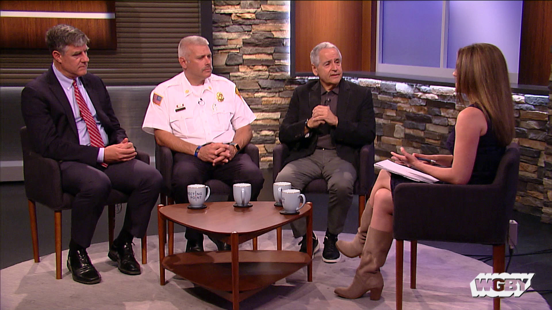 The Springfield September 11th Monument will honor the lives lost on September 11, 2001. Project volunteers, including Springfield Fire Department Commissioner Bernard Calvi, discuss their efforts to raise $300,000 for the monument, with the intention of installing it in Riverfront Park this fall.