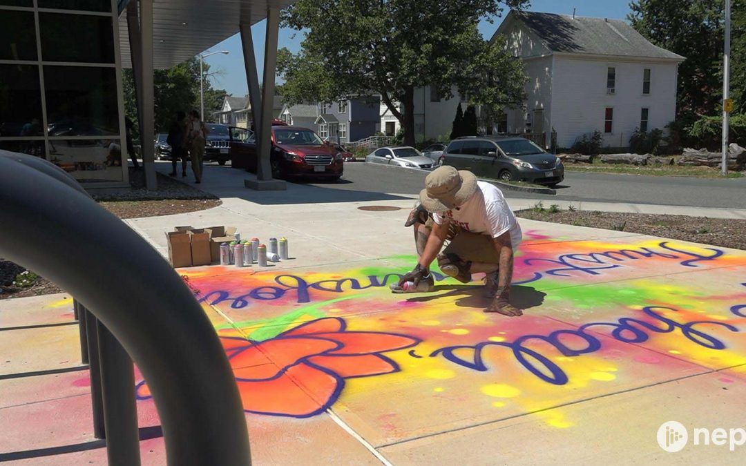 Springfield Trust Transfer Project's Chalk for Change