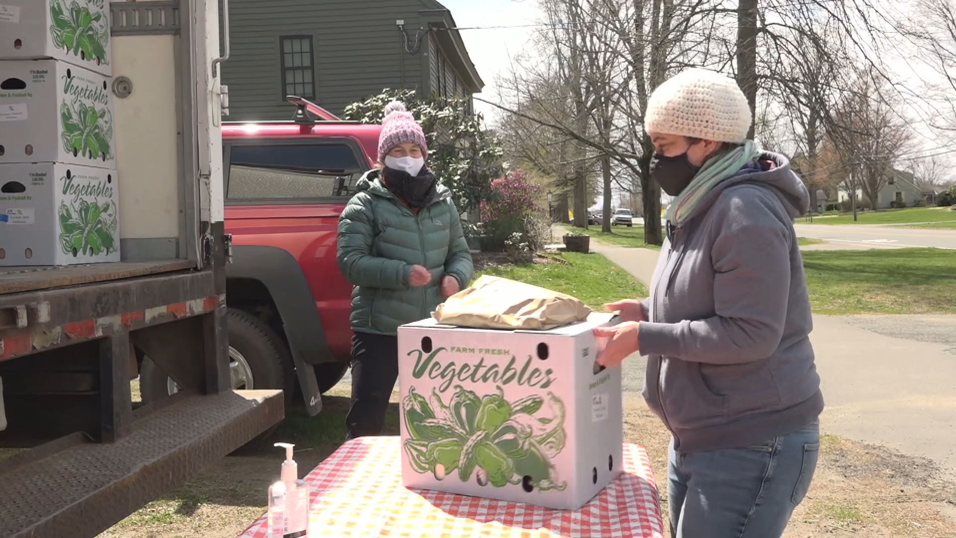 WATCH: Faced with stay at home orders, several farmers banded together to bring the harvest to customers doorstep via the Sunderland Farm Collaborative.