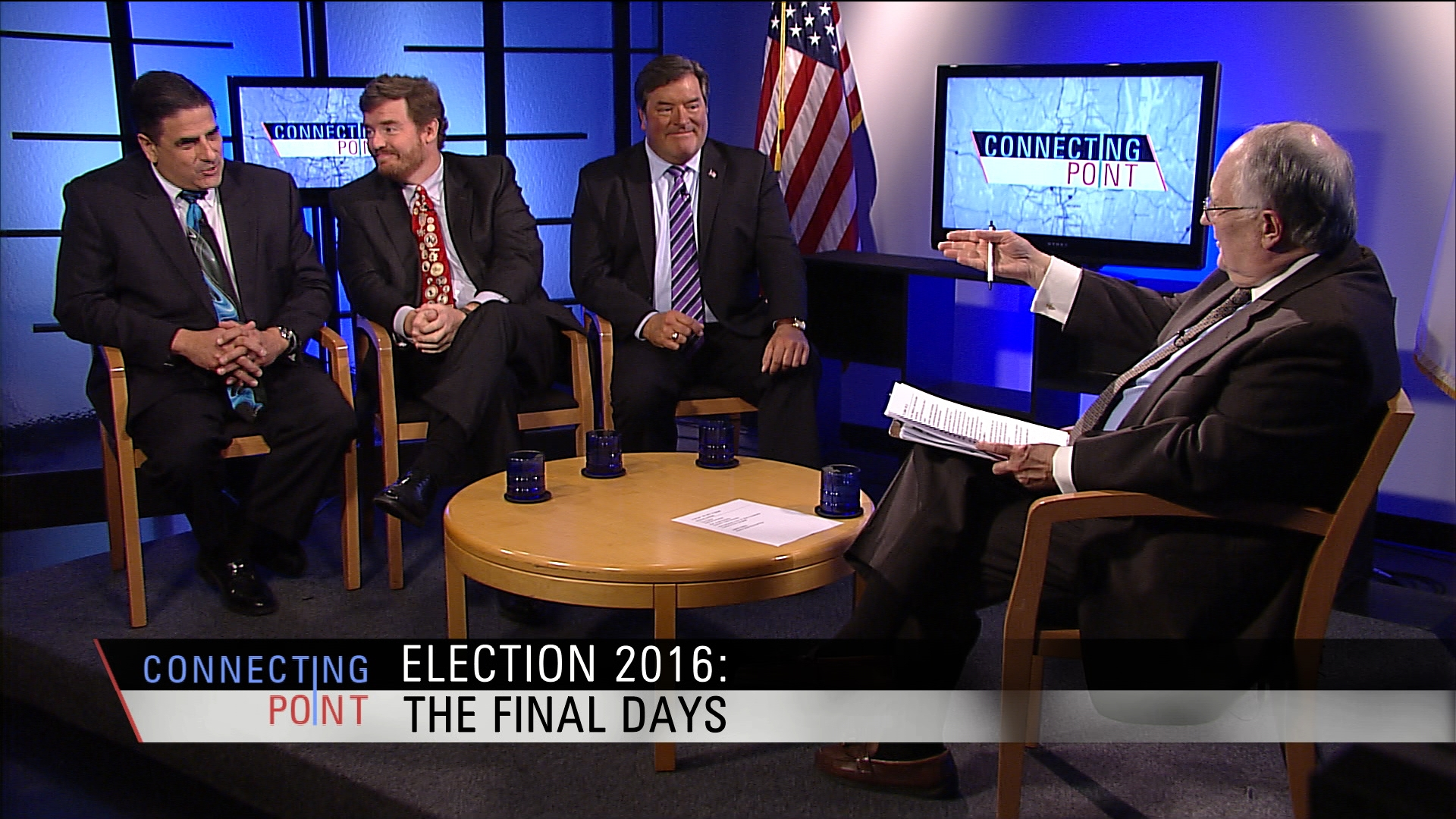 Prof. Jerold Duquette, consultant Tony Cignoli, & former campaign manager Paul Santaniello discuss Election 2016 news in Massachusetts and National races.