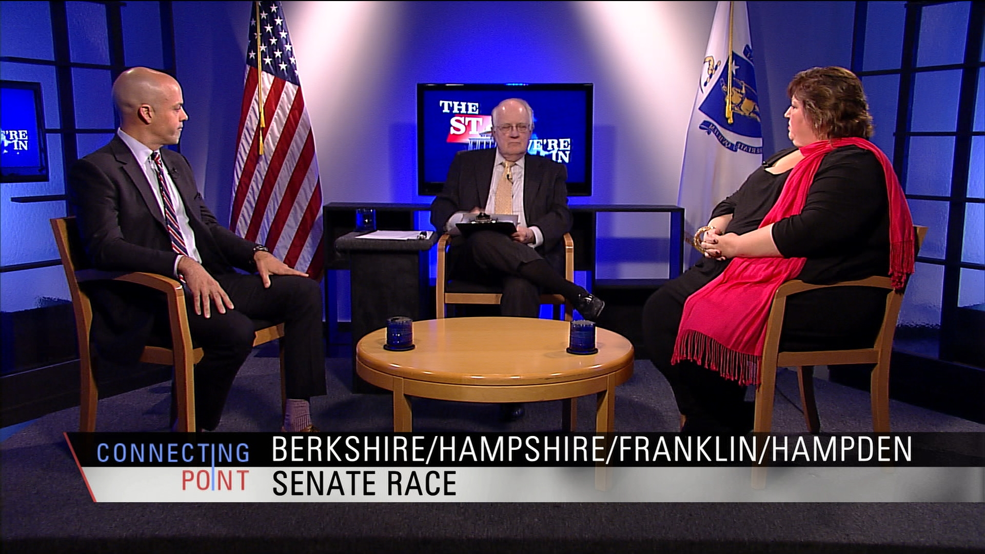 Candidates Christine Canning (R—Lanesborough) and Adam Hinds (D—Pittsfield) debate key issues in their Berkshire State Senate District race.