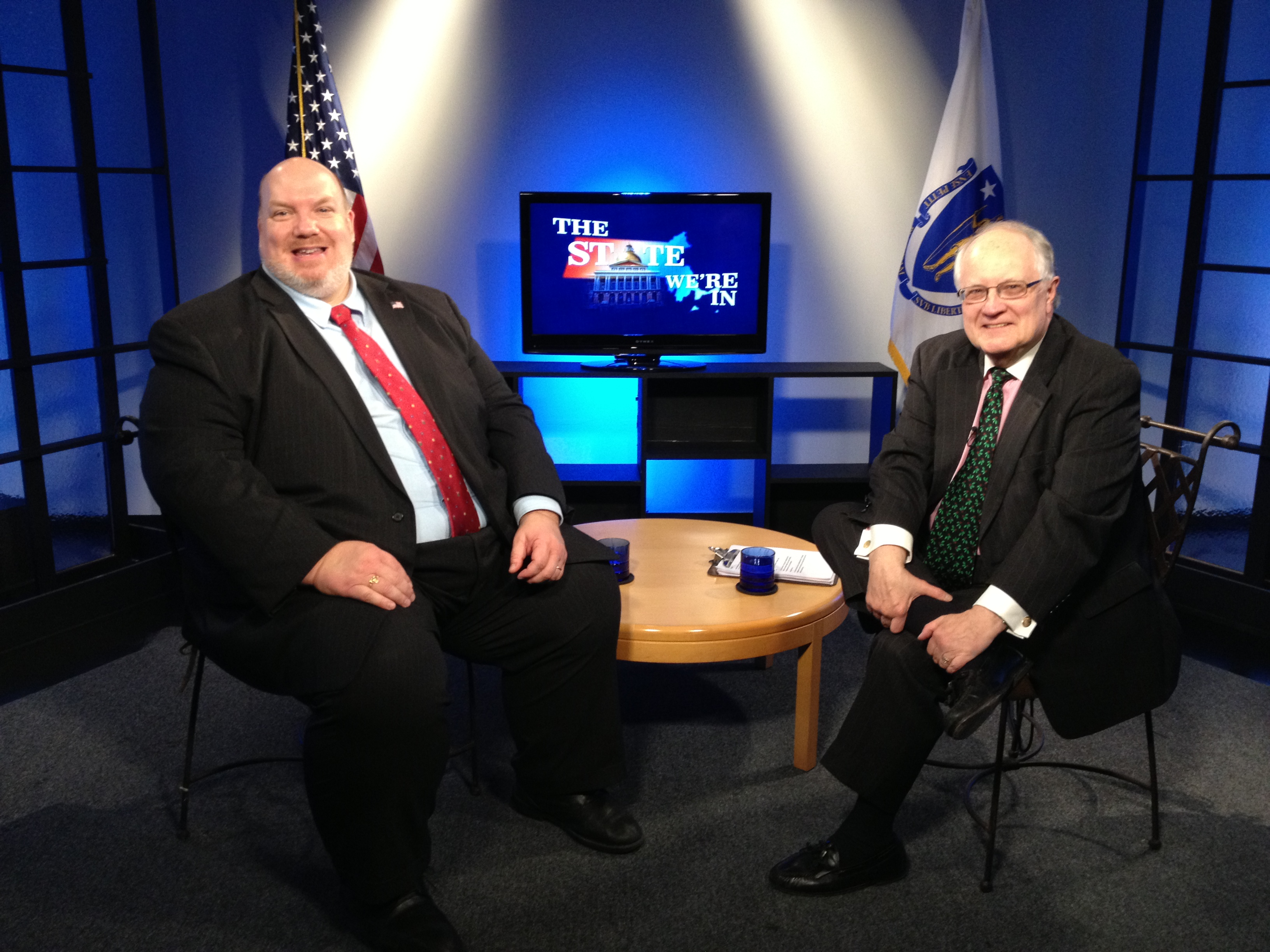 Westfield State Senator Don Humason joins host Jim Madigan on Connecting Point: The State We're In