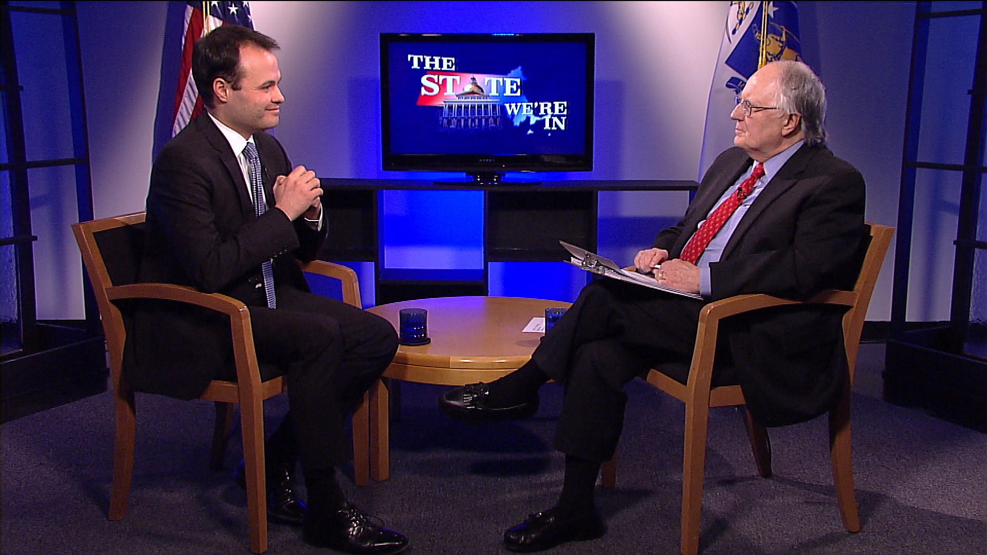 State Sen. Eric Lesser discusses his efforts to create a statewide high-speed rail link and Governor Charlie Baker's 2018 Budget proposal.