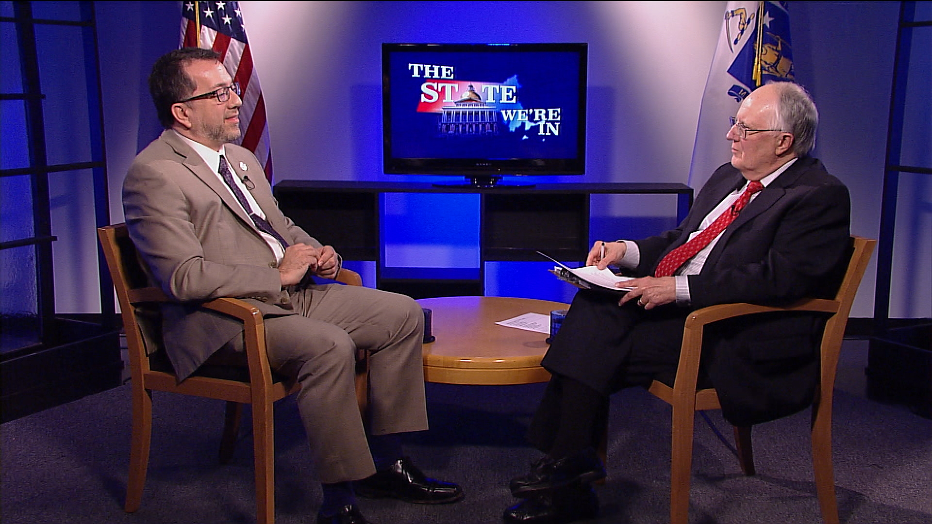 "State Rep. Aaron Vega discusses the work of the Marijuana Policy Committee, the 2018 Massachusetts State Budget debate, and more on ""The State We're In."""