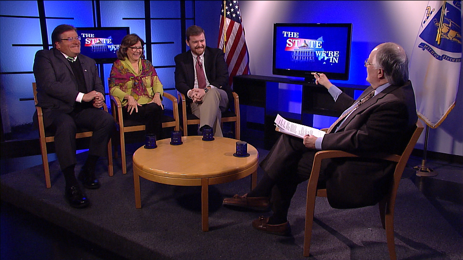 Tony Cignoli, Prof. Jerold Duquette, & Dr. Patricia Peters Martin discuss the political mood of a divided America after the election, and how to cope.