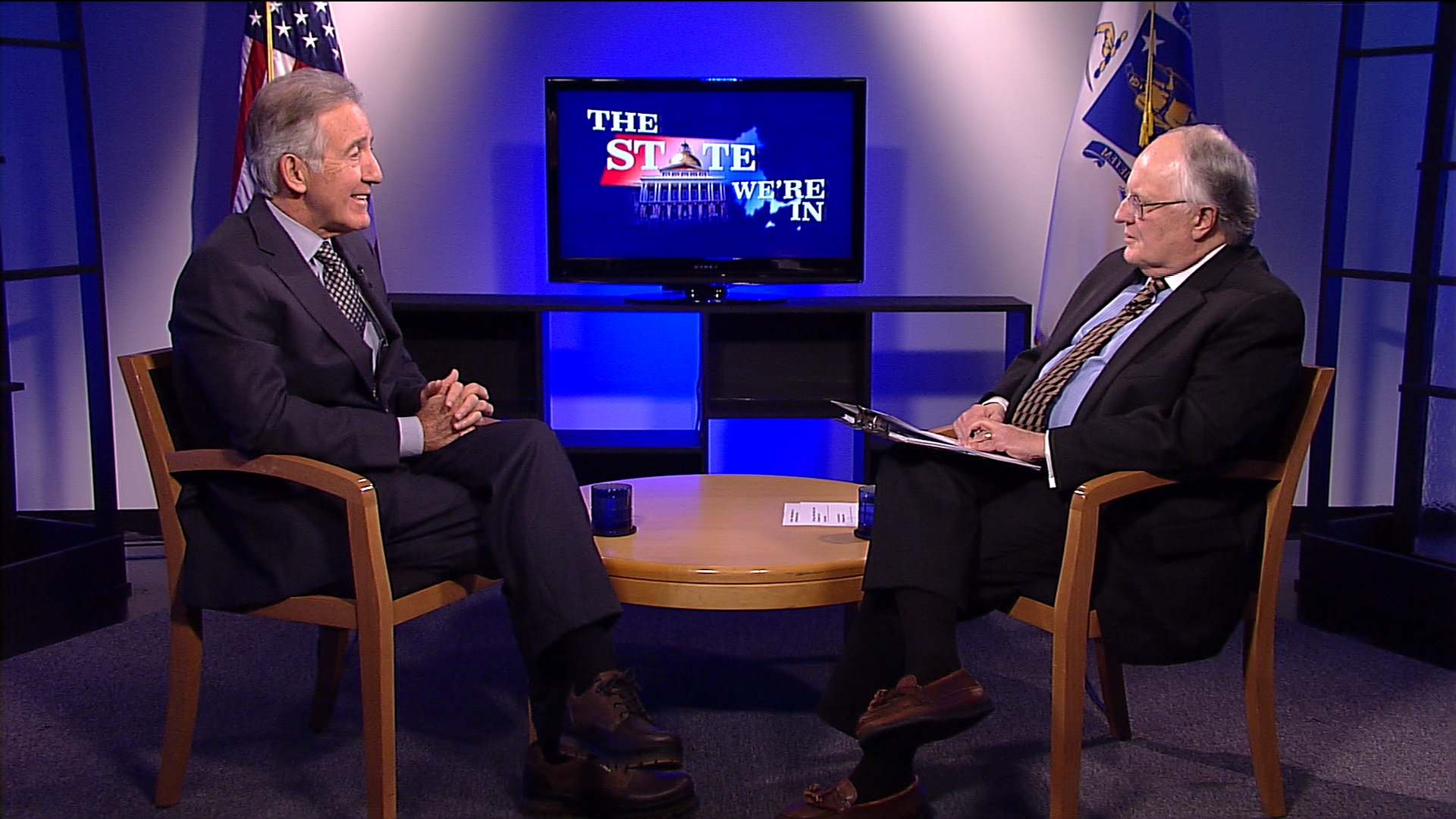U.S. Representative Richard Neal discusses his election as Ranking Minority Member of the powerful House Ways and Means Committee.