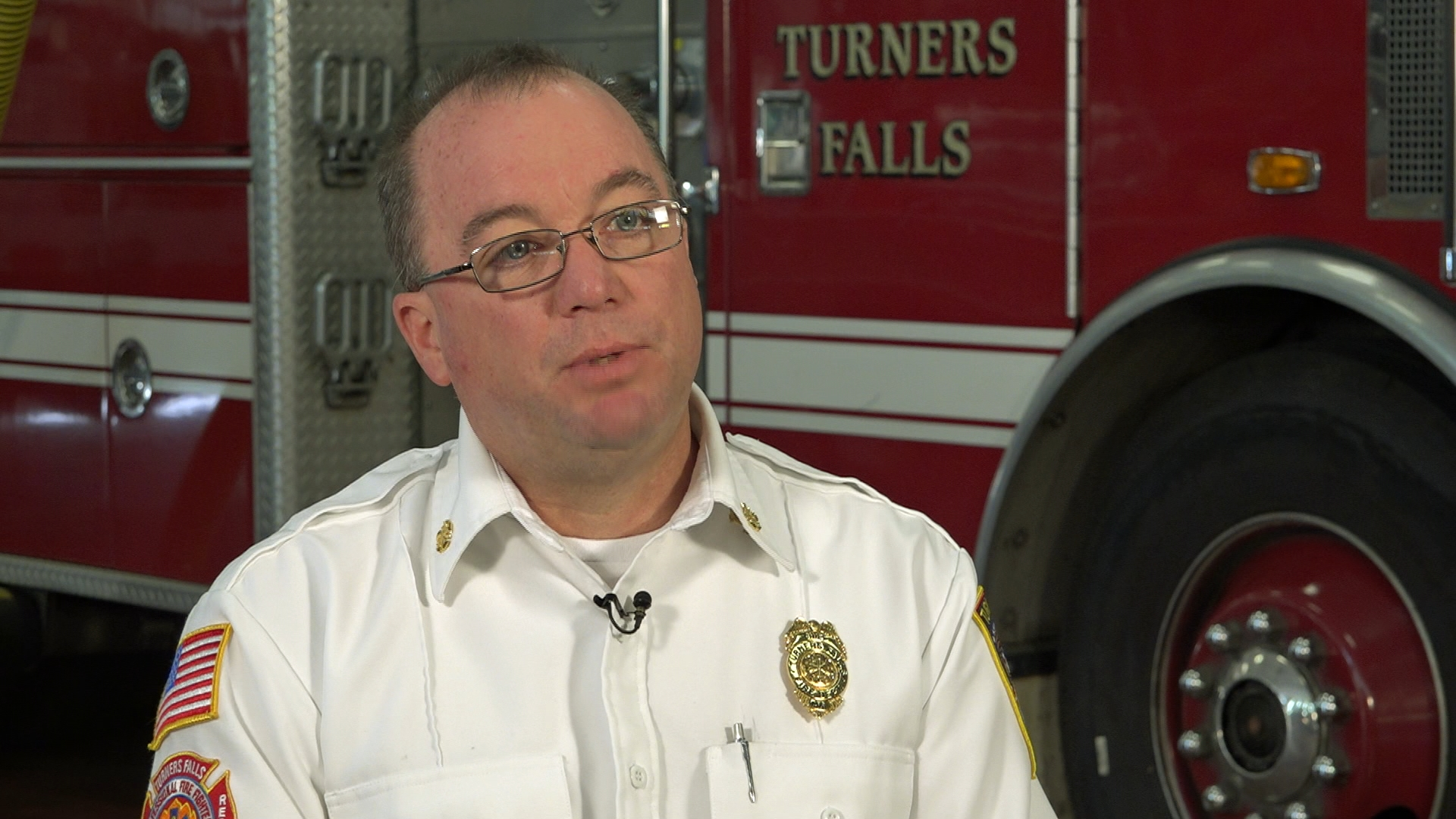 Turners Falls Fire Chief John Zellman discusses the critical need for volunteer firefighters in small towns in western Massachusetts and across the country.