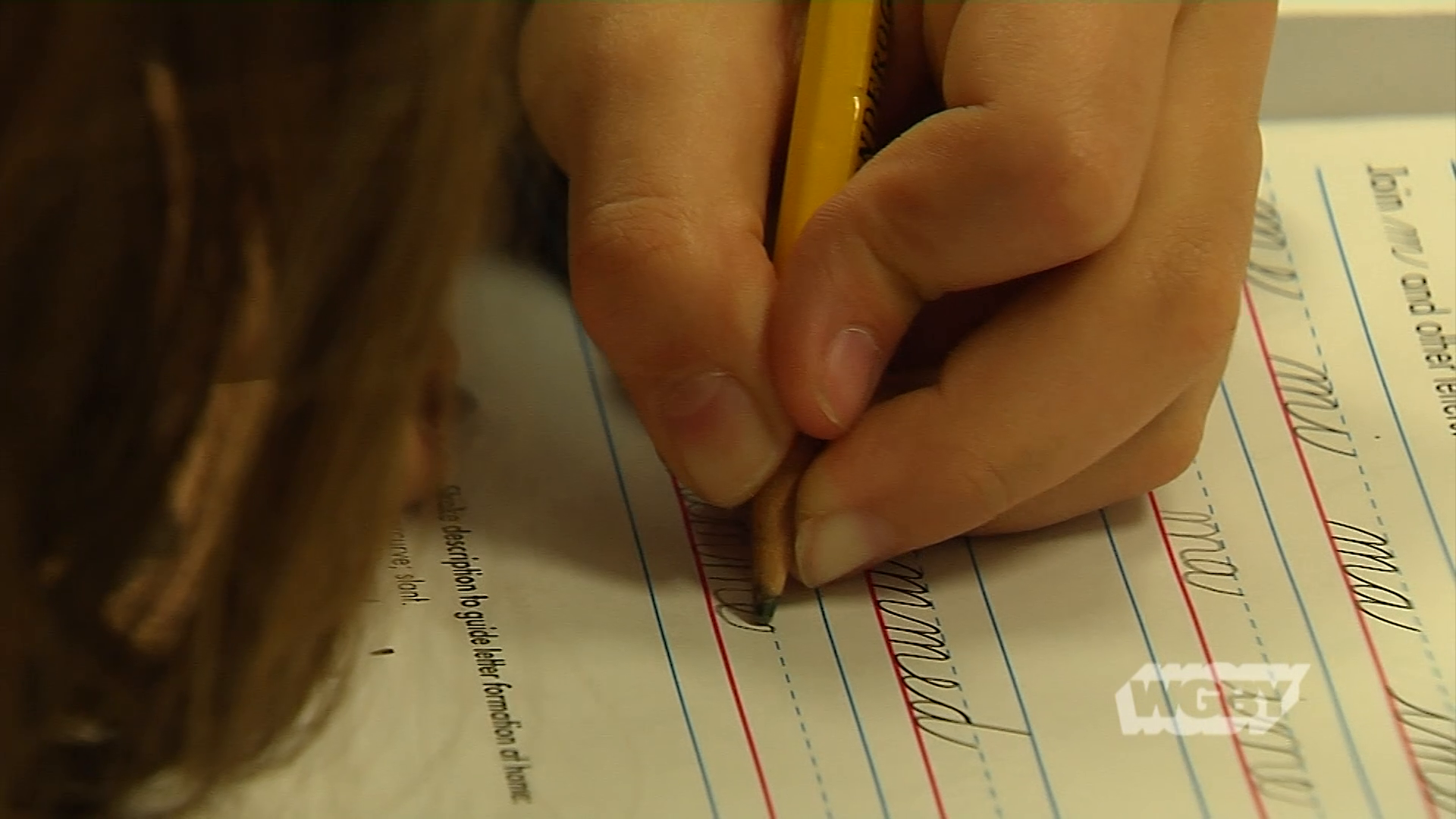 Many schools are questioning if it's worth teaching cursive handwriting in an increasingly digital age. Connecting Point's Stephanie Leydon reports.