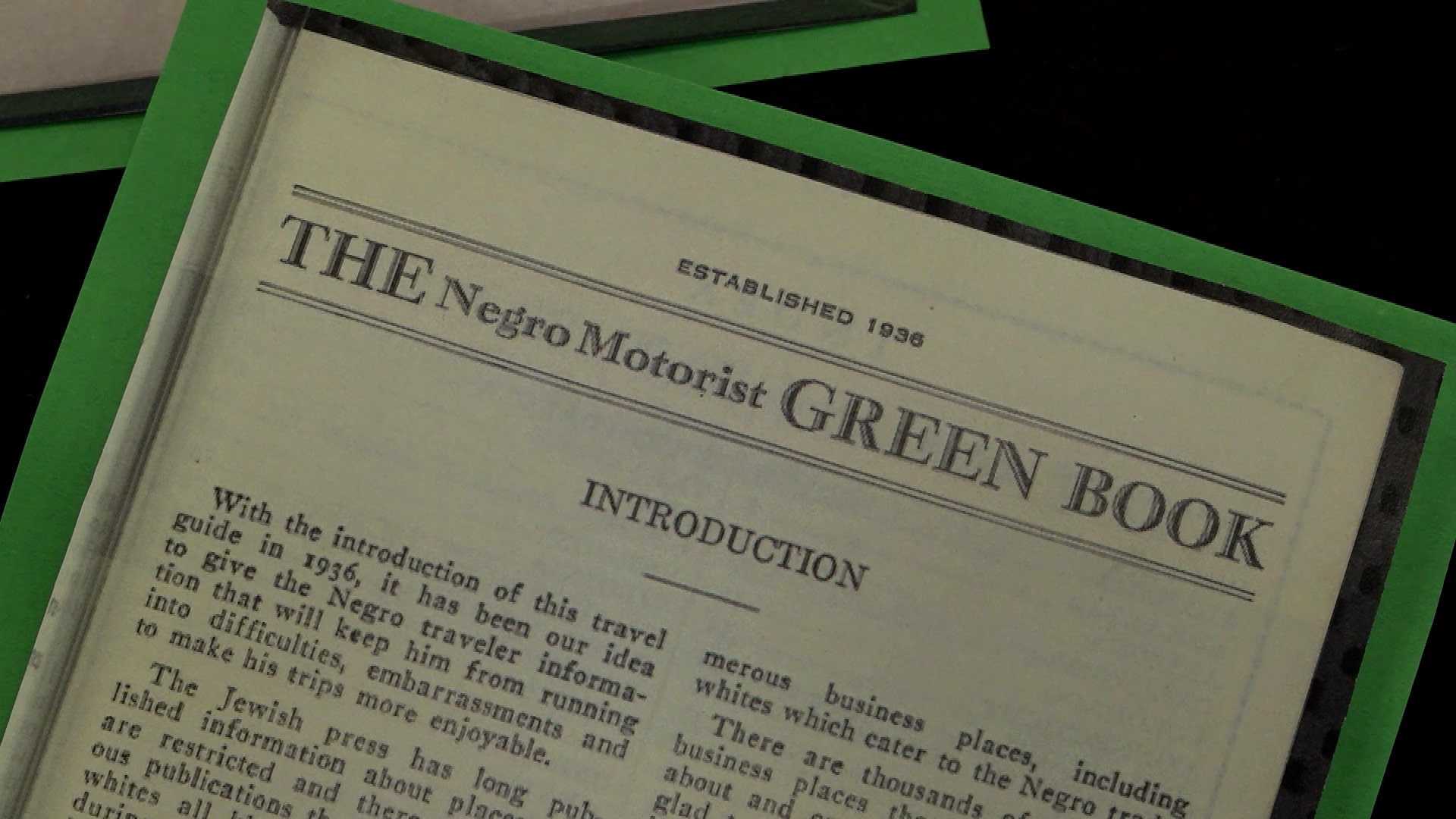 The Green Book Guide to Travel During Segregation