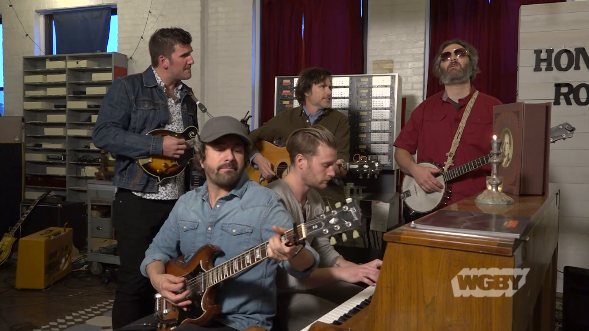 "WATCH: Local band Whiskey Treaty Roadshow is made up of five successful solo artists who are releasing a new album, ""Band Together."""