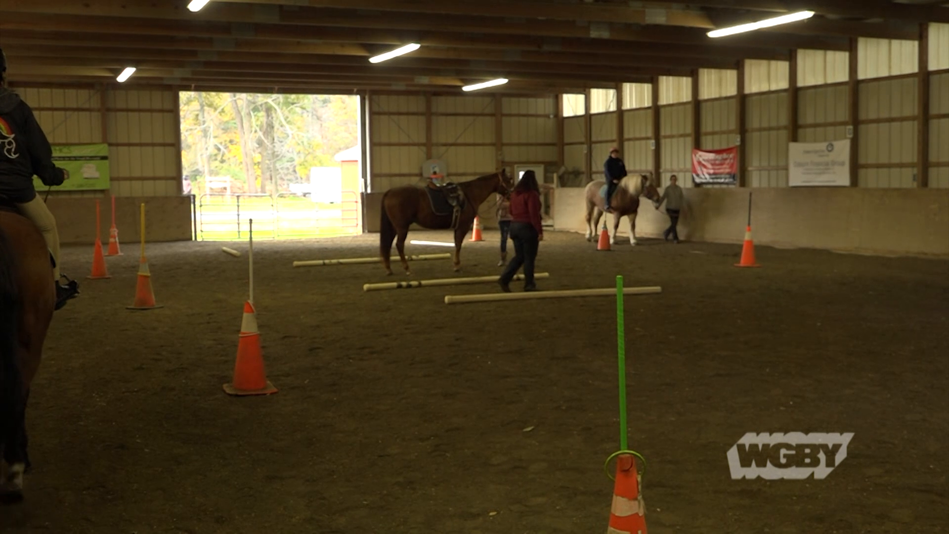 Since 1982, the Therapeutic Equestrian Center in Holyoke has made horseback riding available to individuals with disabilities.