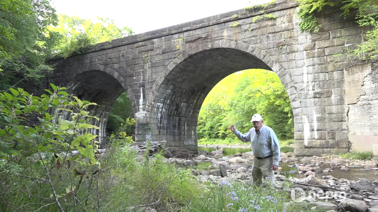 Join Connecting Point on a walking tour of the Keystone Arches, a relic of the historic Western Railroad located deep in the woods of the Hilltowns.