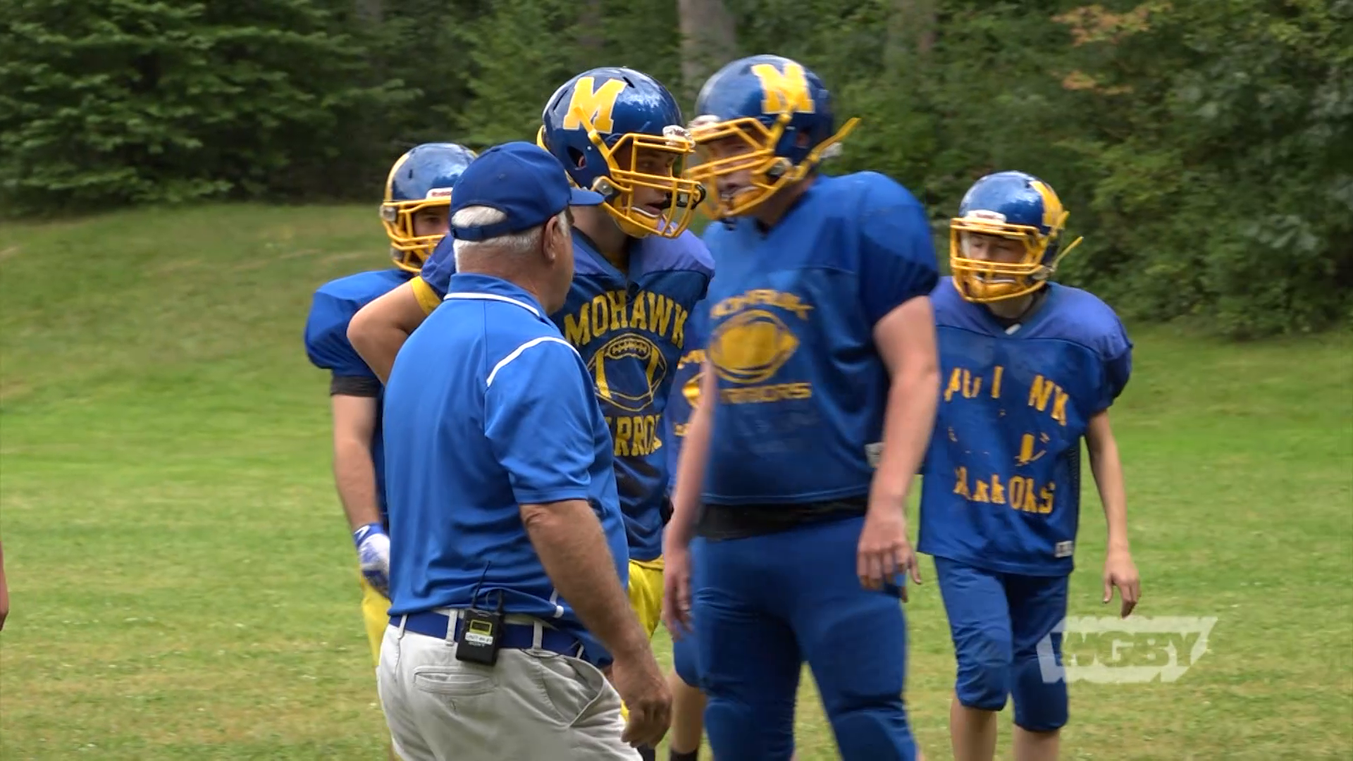 In danger of losing their football teams, Turners Falls High and Mohawk Regional High are fielding a combined team this season.