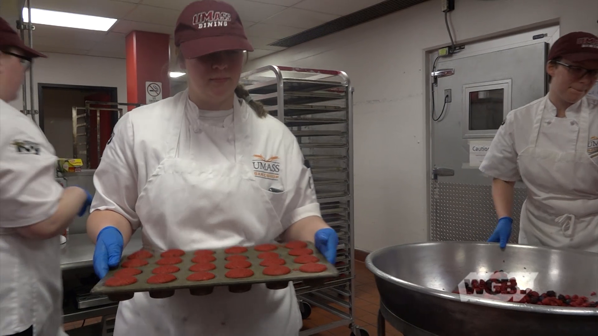 UMass Bakeshop Behind the Scenes Tour with Simon Steveson