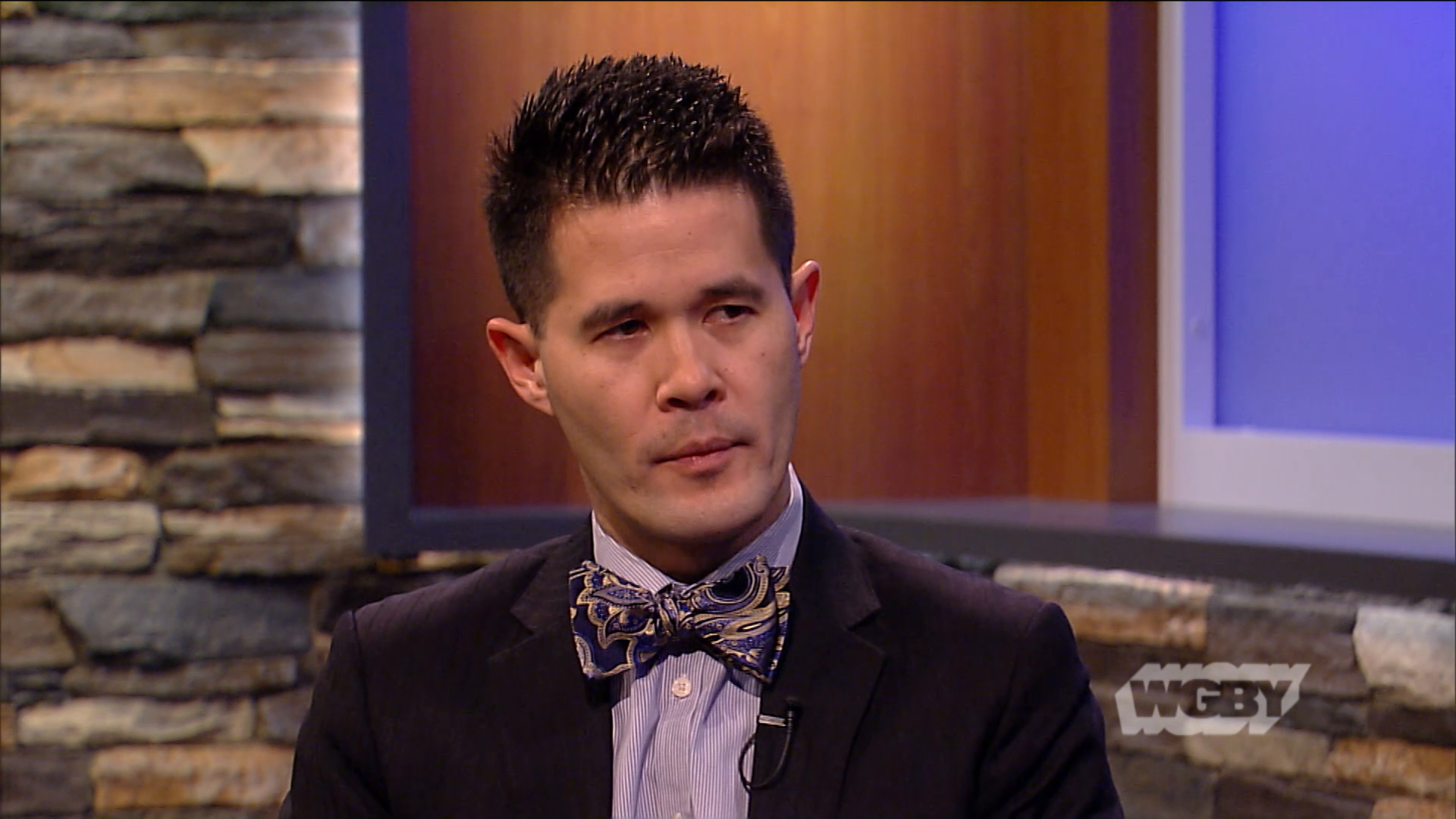 Professor David Chin talks about a UMass combat brain injury study, showing soldiers with brain injuries are are at greater risk of mental health disorders.