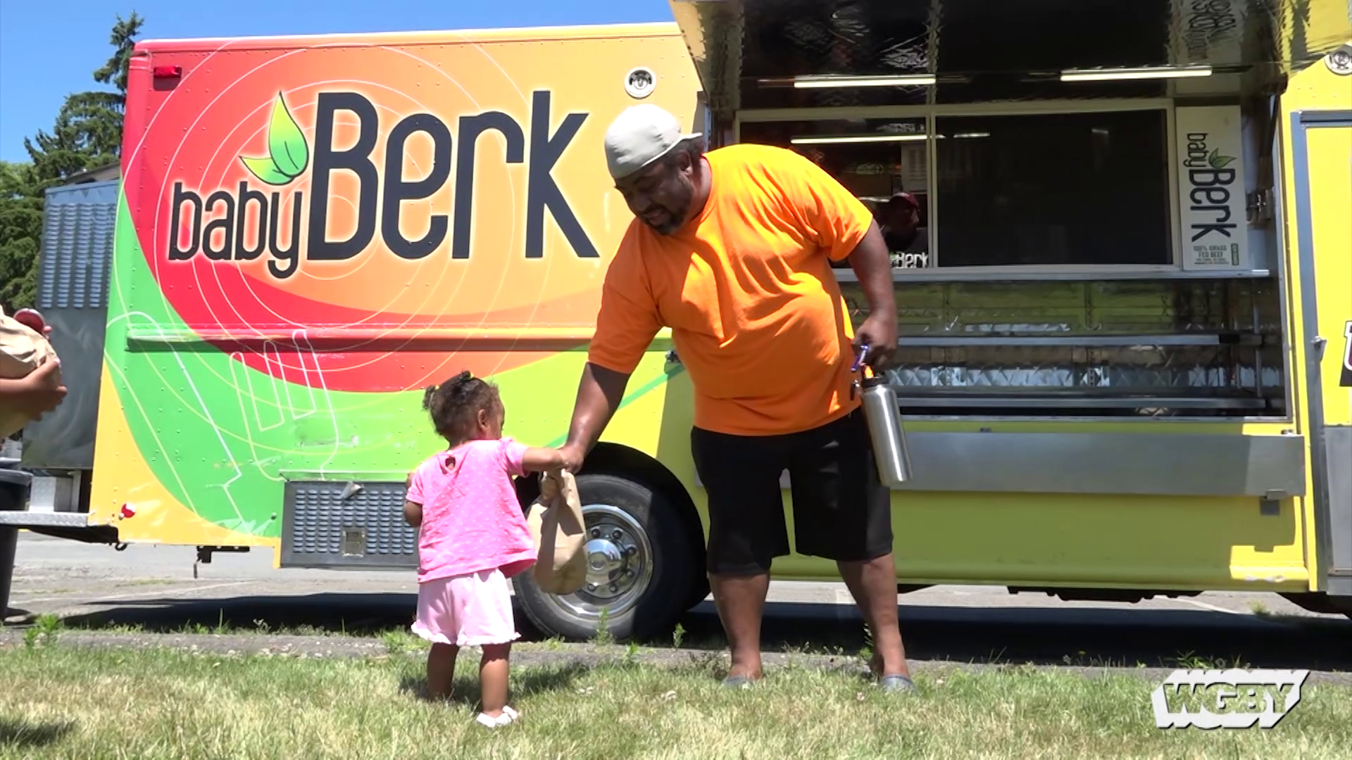 Baby Berk, the UMass Amherst food truck, ventured off campus to provide free, healthy meals to low income kids & teens in Amherst, MA over the summer.