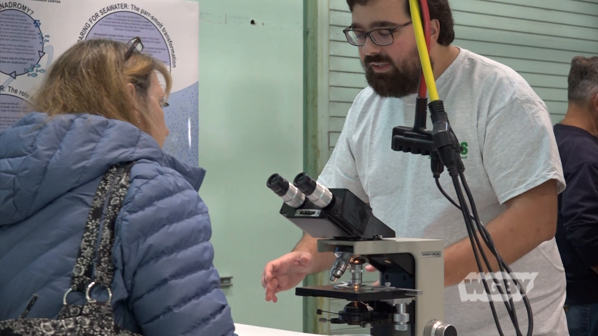 The Silvo Conte Research Center, part of the USGS, hosted an open house to give the public a chance to see what goes on in the federal research facility.