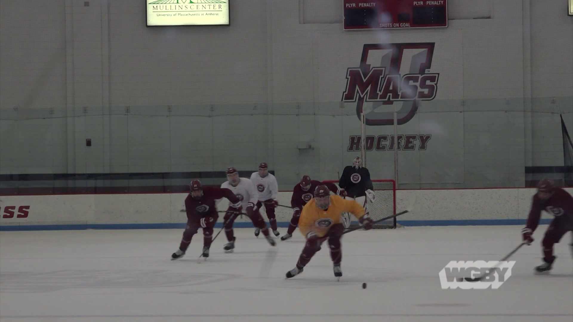 UMass Hockey is headed to the NCAA Frozen Four, and the Minutemen's successful season has inspired a new generation of hockey players.