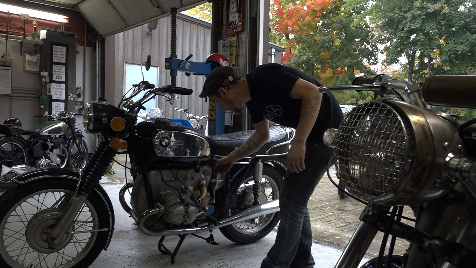 Visit Brattleboro, VT's Vintage Steele & see how owner Josh Steele's passion for vintage motorcycles grew from a garage hobby into a burgeoning business.