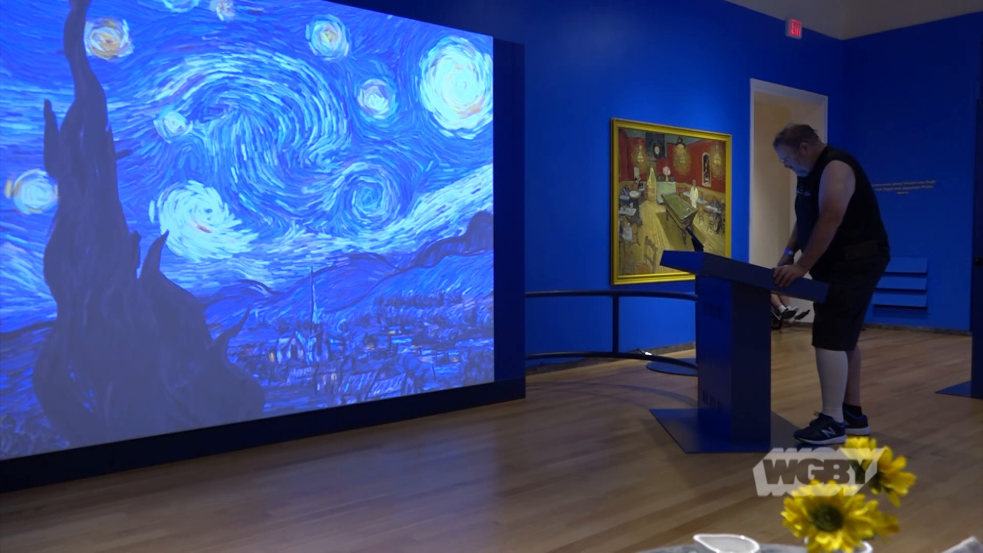 Springfield Museums' Van Gogh For All highlighs the famous impressionist artist's work through a unique, interactive exhibit.