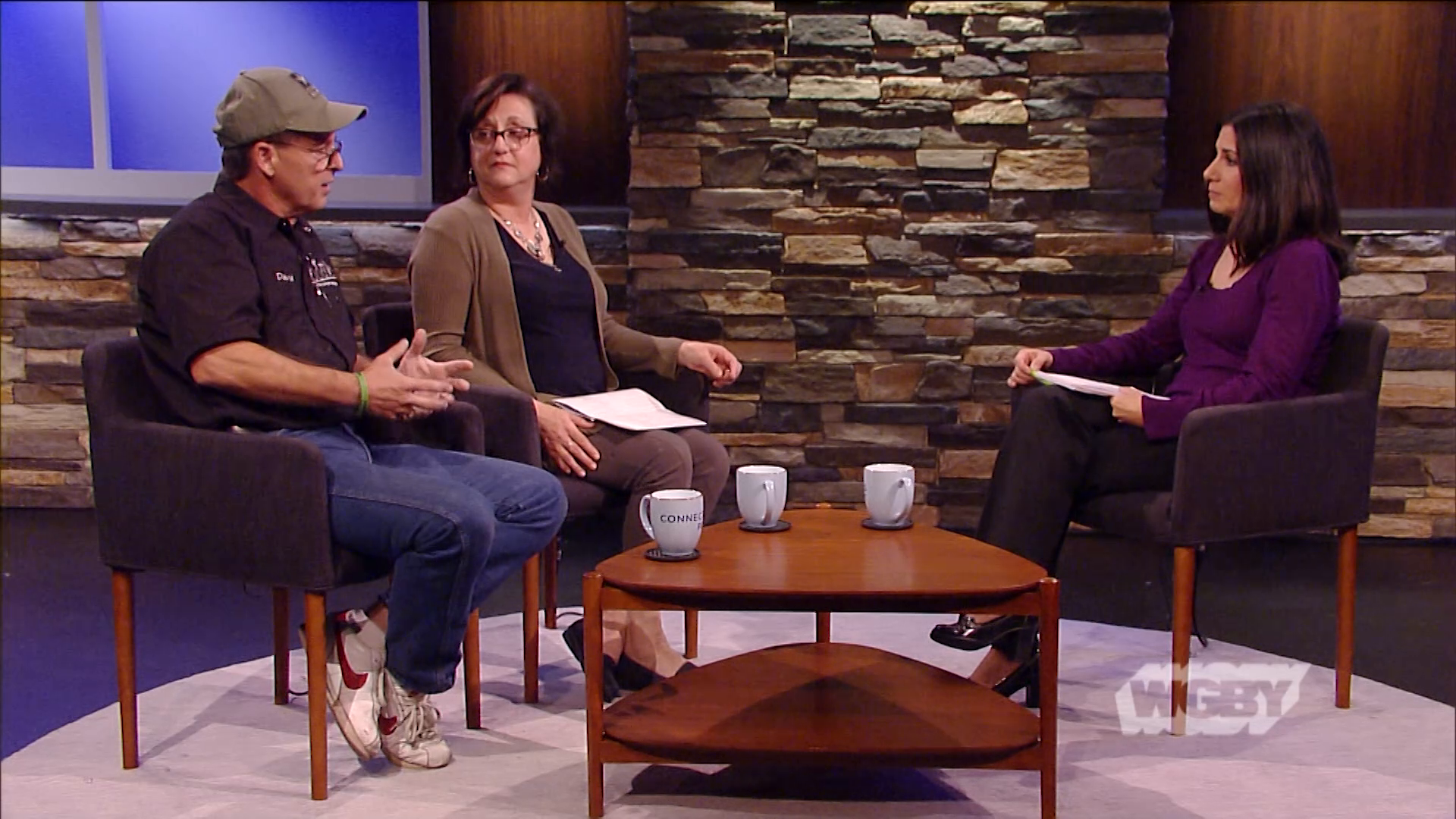 One Call Away Foundation's David Sutton & RN Ida Konderwicz share details about Baystate Medical Center's veteran mental health forum for first responders.