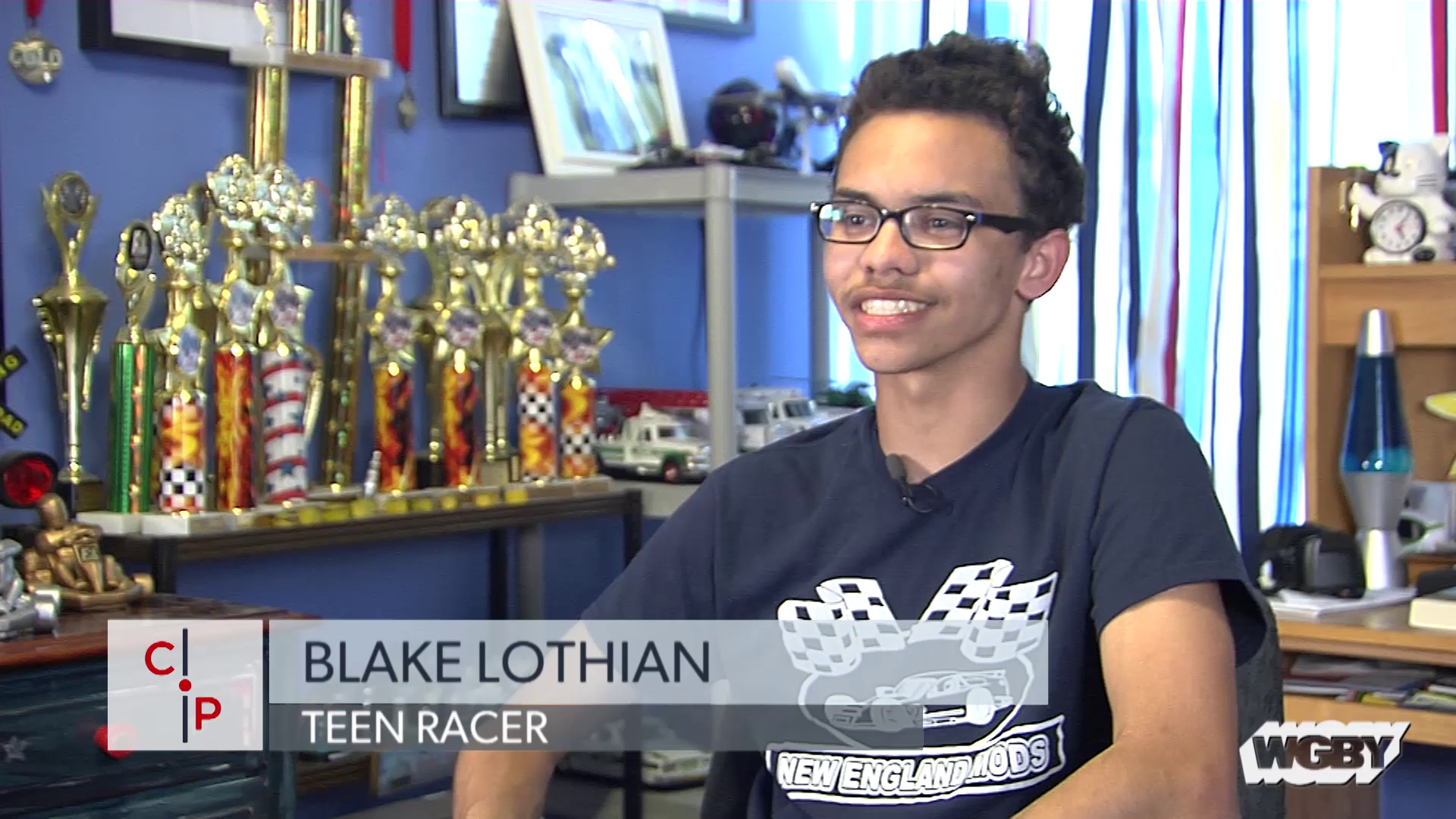 A sprinter for the Wellesley High track team, freshman Blake Lothian is dreaming of going pro, but on a very different track. As Connecting Point's Stephanie Leydon shows us, the runner is also a race car driver, and he is burning rubber with the adults—and keeping one eye on NASCAR.