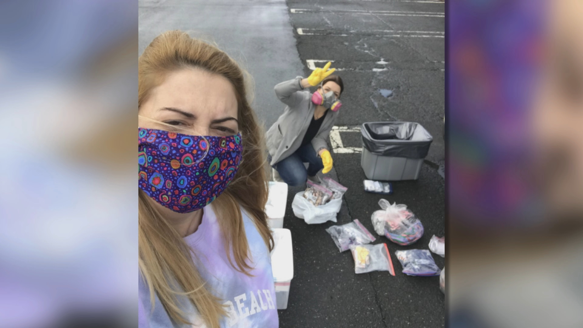 Realizing a need for cloth masks during COVID-19, Marie Yvon turned to social media to network with local crafters and sew mask for frontline workers.