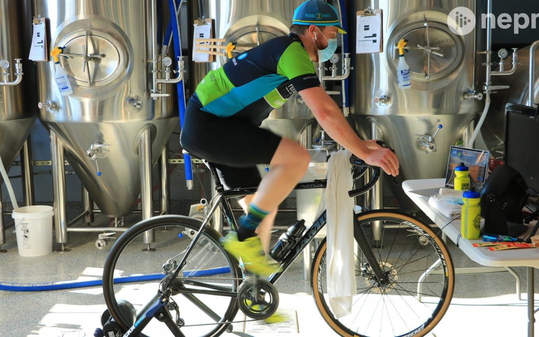 Local Brewer Bikes to Benefit Food Bank of Western Mass