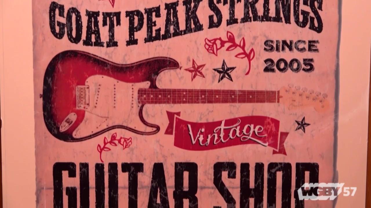 Visit Easthampton's Goat Peak Strings, where luthiers Jane Hamel & Alex Gray refurbish & maintain vintage stringed instruments.