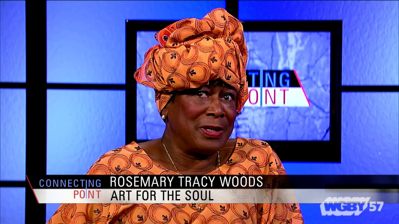 Rosemary Tracy Woods discusses her Art for the Soul gallery in Springfield's Tower Square, where artists of all cultures can exhibit and sell their work.