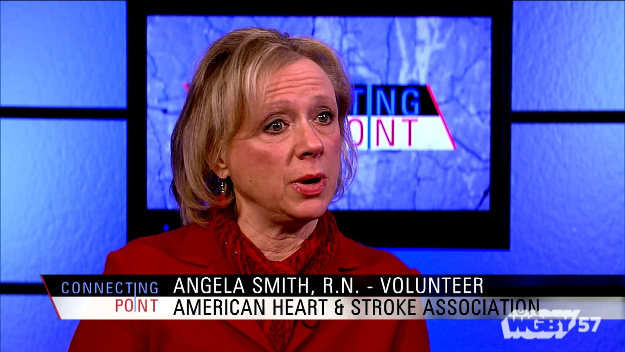RN Angela Smith of the American Heart Association discusses the Go Red for Women heart health awareness campaign. February is Heart Health Month.