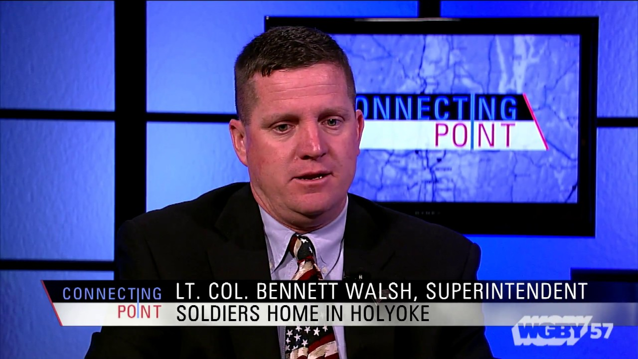Lt. Col. Bennett Walsh discusses the programs and services offered by the Soldiers' Home in Holyoke and reflects on what Memorial Day means to him.
