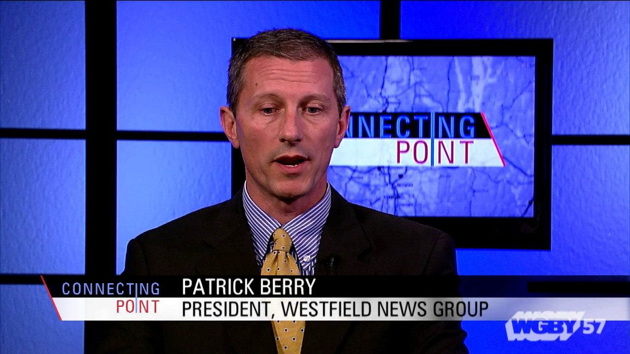 """Westfield native Patrick Berry, owner of the """"Westfield News"""" discusses the importance of local media ownership and community-based media."""