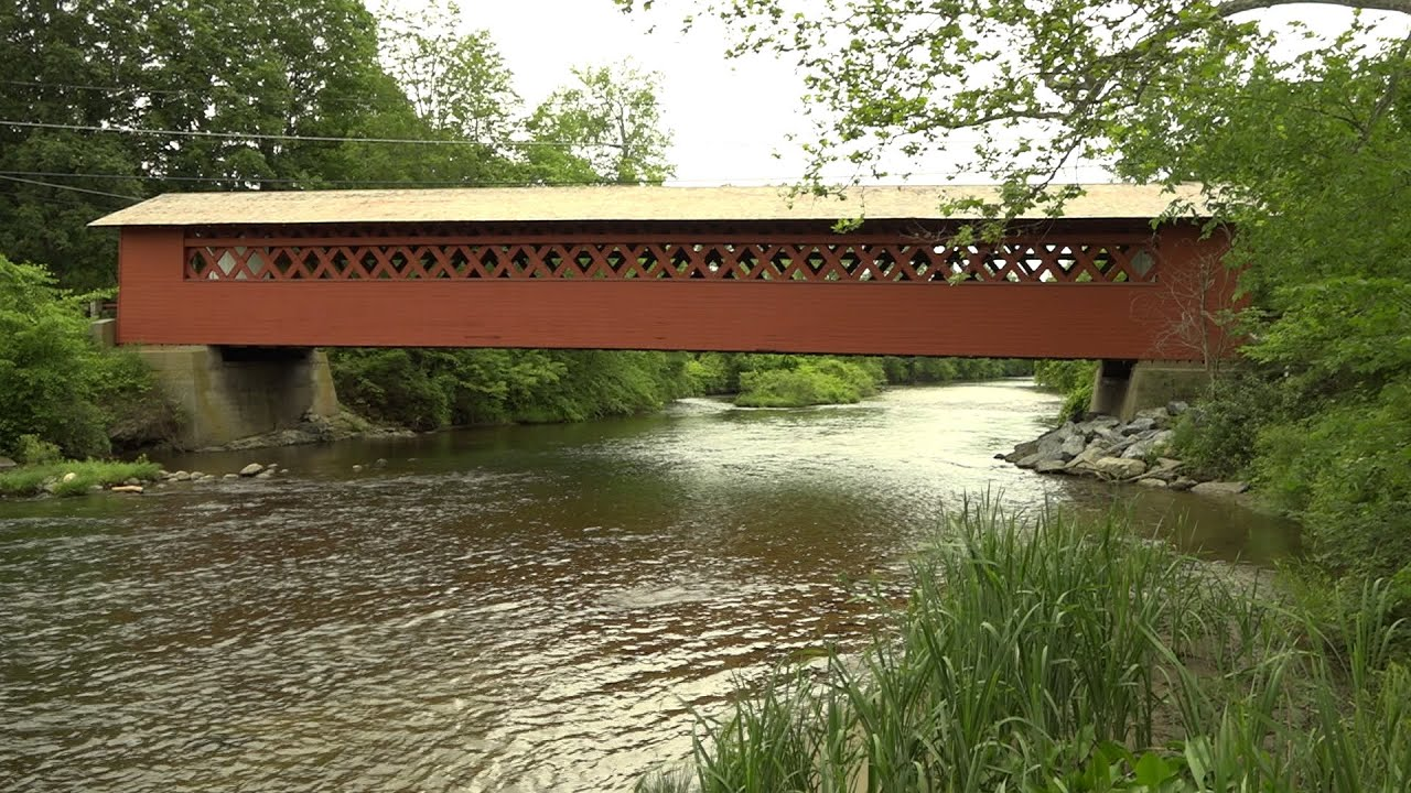 The Bennington Covered Bridge Museum focuses on architectural ingenuity, economic necessity, and romantic idealism of Vermont's historic covered bridges.